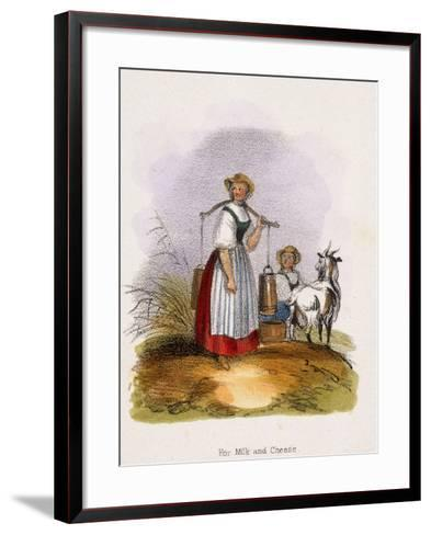 For Milk and Cheese, C1845-Benjamin Waterhouse Hawkins-Framed Art Print