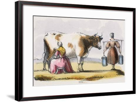Milk, C1845-Benjamin Waterhouse Hawkins-Framed Art Print