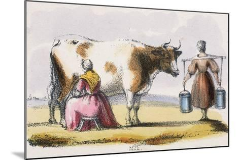 Milk, C1845-Benjamin Waterhouse Hawkins-Mounted Giclee Print