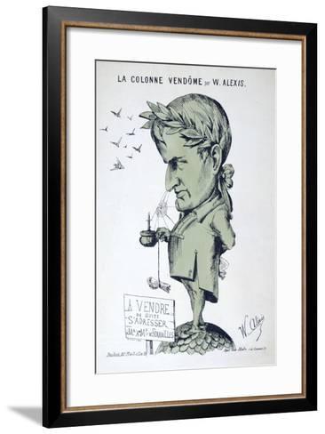 Napoleon I, 19th Century-Alexis Wallerstein-Framed Art Print