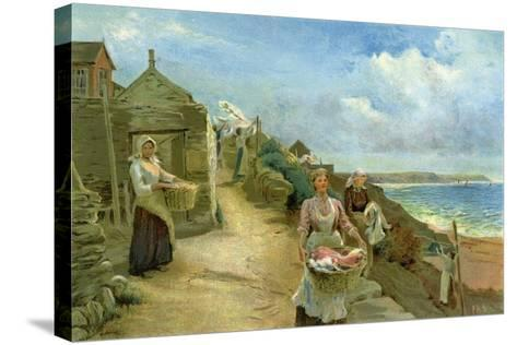 Washing Day, 1905-Alf Cooke-Stretched Canvas Print