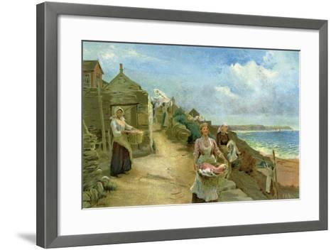 Washing Day, 1905-Alf Cooke-Framed Art Print