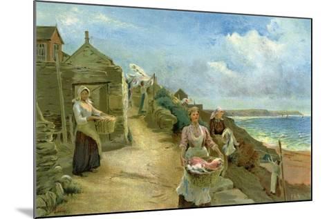 Washing Day, 1905-Alf Cooke-Mounted Giclee Print
