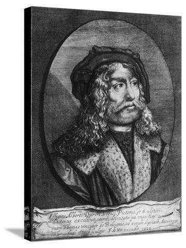 Portrait of Albrecht Durer, 1629-Andreas Stock-Stretched Canvas Print