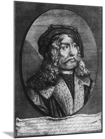 Portrait of Albrecht Durer, 1629-Andreas Stock-Mounted Giclee Print