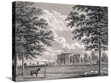 Brockwell Hall, Herne Hill, Lambeth, London, 1820-Bartholomew Howlett-Stretched Canvas Print