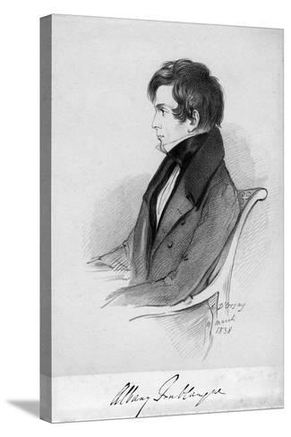 Albany Fonblanque, Journalist, C1820-1850-Alfred d'Orsay-Stretched Canvas Print