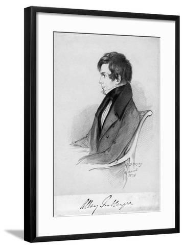 Albany Fonblanque, Journalist, C1820-1850-Alfred d'Orsay-Framed Art Print