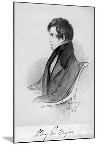 Albany Fonblanque, Journalist, C1820-1850-Alfred d'Orsay-Mounted Giclee Print