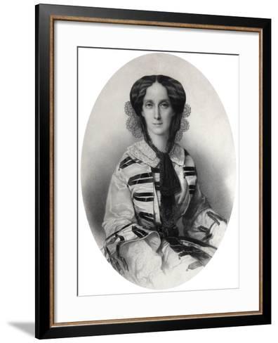 Tsarina Maria Alexandrovna of Russia, 1860-Andrei Deniere-Framed Art Print