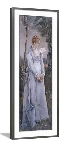 Spring, 1876-Alfred Emile Leopold Joseph Victor Stevens-Framed Art Print
