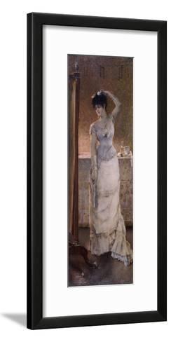 Winter, 1876-Alfred Emile Leopold Joseph Victor Stevens-Framed Art Print