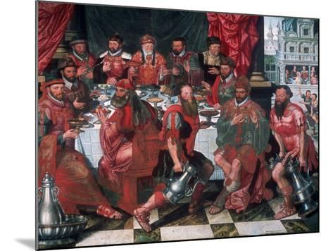 Banquet, 1574-Antoon Claeissens-Mounted Giclee Print