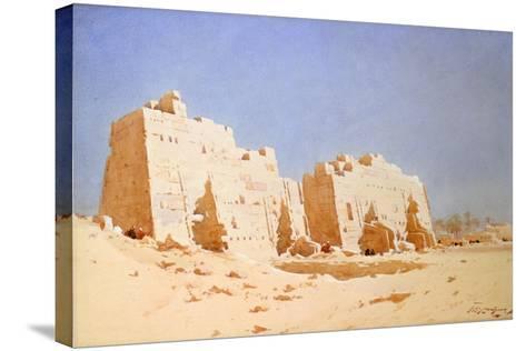 Karnak, 1897-1930-Augustus Osborne Lamplough-Stretched Canvas Print