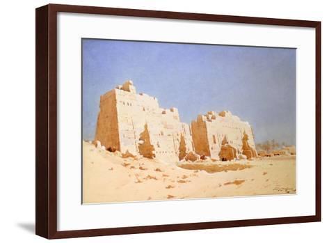 Karnak, 1897-1930-Augustus Osborne Lamplough-Framed Art Print