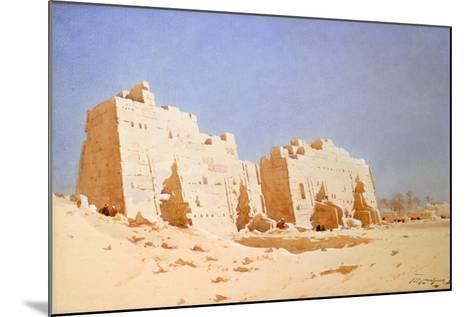 Karnak, 1897-1930-Augustus Osborne Lamplough-Mounted Giclee Print