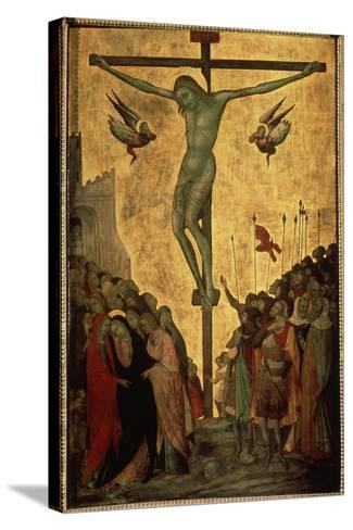 Calvary, 14th Century-Bartolommeo Bulgarini-Stretched Canvas Print