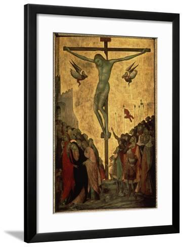 Calvary, 14th Century-Bartolommeo Bulgarini-Framed Art Print