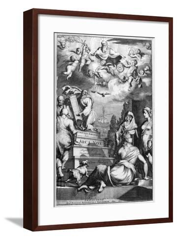 Frontispiece of Arca Noe, 1675-Athanasius Kircher-Framed Art Print