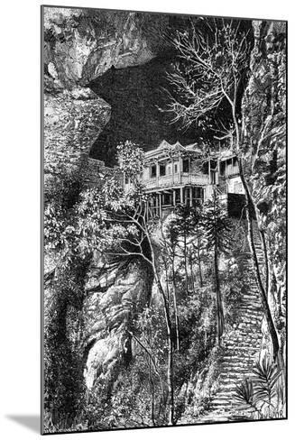 Buddhist Monastery, Yuen-Fu on the Min, South of Fuchu-Fu, C1890-Armand Kohl-Mounted Giclee Print