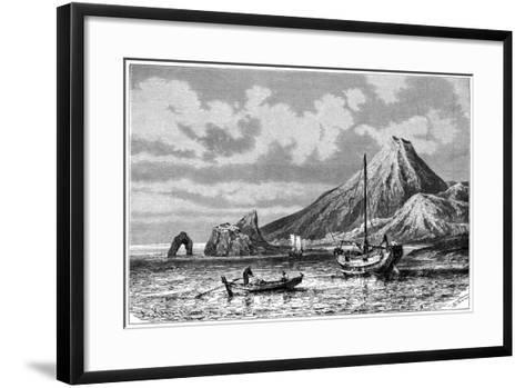 Cape Horner, Japan, 1895-Armand Kohl-Framed Art Print