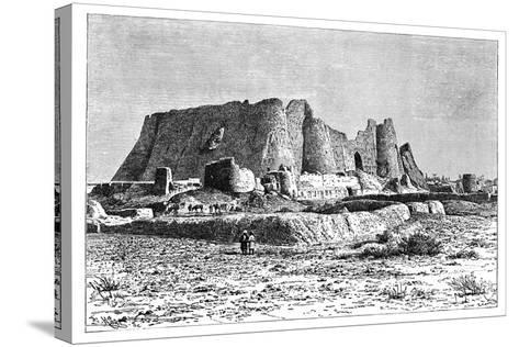 The Ruined Fortress of Veramin, Persia (Ira), 1895-Armand Kohl-Stretched Canvas Print