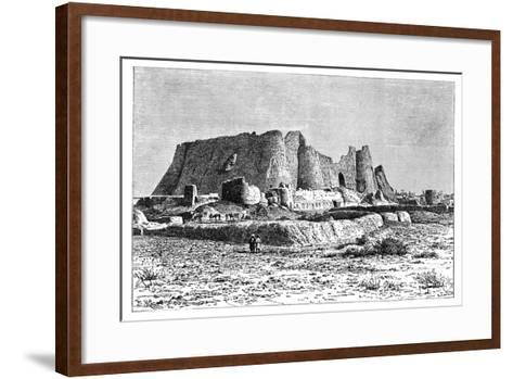 The Ruined Fortress of Veramin, Persia (Ira), 1895-Armand Kohl-Framed Art Print
