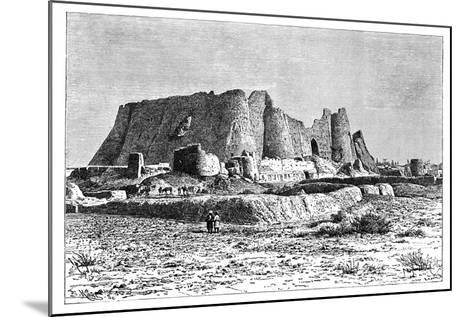 The Ruined Fortress of Veramin, Persia (Ira), 1895-Armand Kohl-Mounted Giclee Print