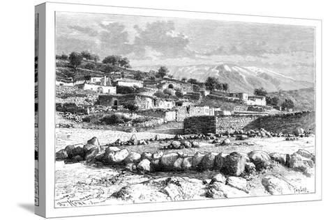 Mount Hermon, Syria, 1895-Armand Kohl-Stretched Canvas Print