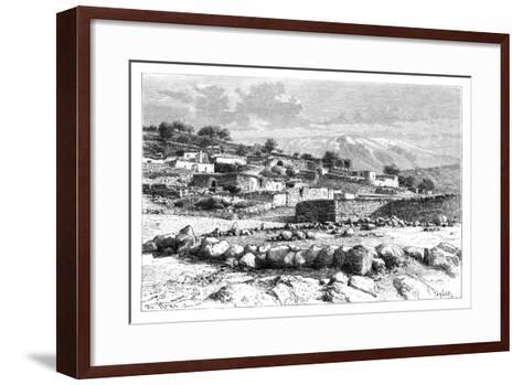 Mount Hermon, Syria, 1895-Armand Kohl-Framed Art Print