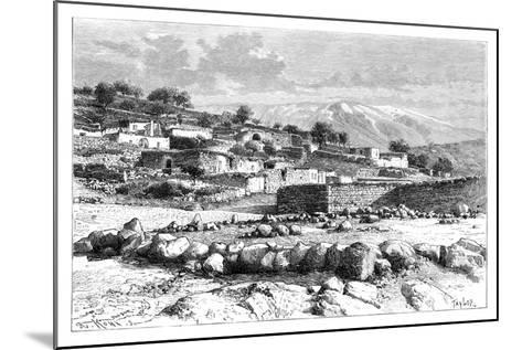 Mount Hermon, Syria, 1895-Armand Kohl-Mounted Giclee Print