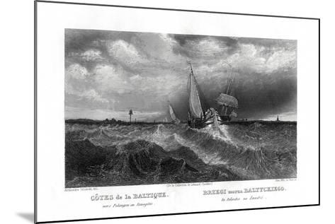 On the Coasts of the Baltic, 19th Century-Alex Will-Mounted Giclee Print