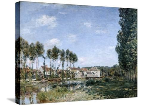 Moret, on the Banks of the Loing, 1892-Alfred Sisley-Stretched Canvas Print