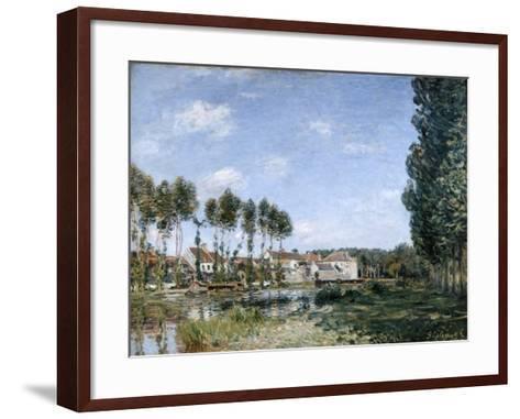 Moret, on the Banks of the Loing, 1892-Alfred Sisley-Framed Art Print