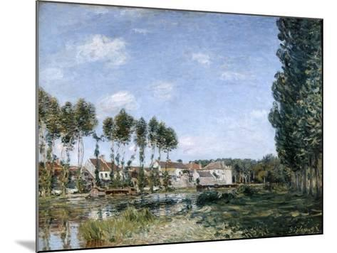 Moret, on the Banks of the Loing, 1892-Alfred Sisley-Mounted Giclee Print