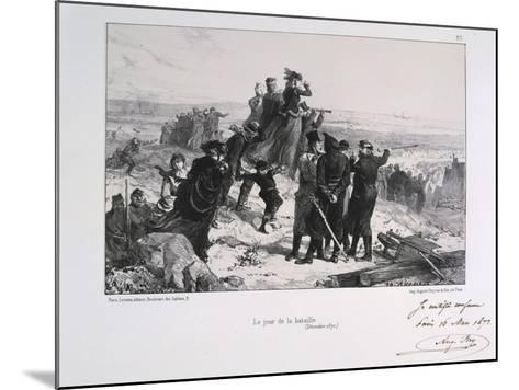 Le Jour Du Bataille' ('The Day of the Battle), Siege of Paris, Franco-Prussian War, 1870-Auguste Bry-Mounted Giclee Print