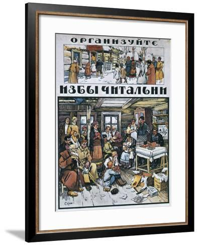 Fit Out Reading Rooms!, 1919-Alexander Apsit-Framed Art Print