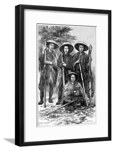 Japanese Peasants, 1895-Armand Kohl-Framed Art Print