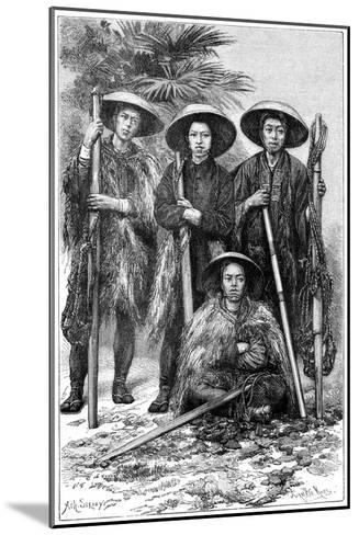 Japanese Peasants, 1895-Armand Kohl-Mounted Giclee Print