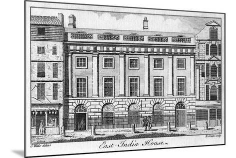 The East India House, City of London, Late 18th Century-B Green-Mounted Giclee Print