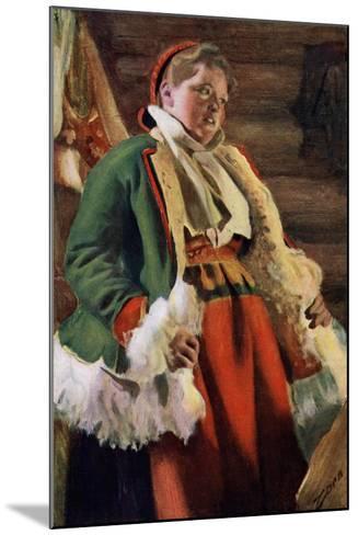 Braskkulla, a Peasant Girl from Moro, 1911-1912-Anders Leonard Zorn-Mounted Giclee Print