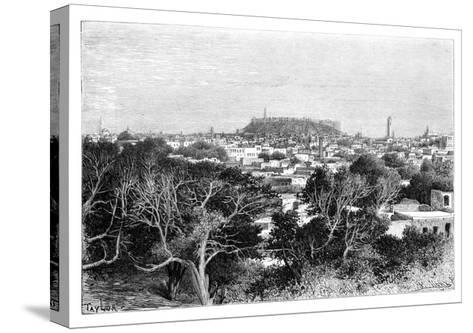 Aleppo, Syria, 1895-Armand Kohl-Stretched Canvas Print