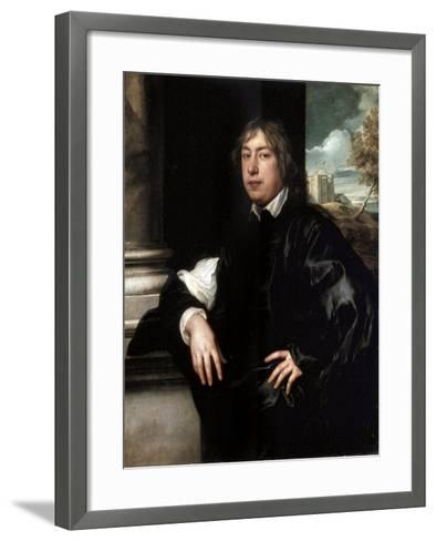 Portrait of Everhard Jabach, (1610-169), 1636-1637-Sir Anthony Van Dyck-Framed Art Print