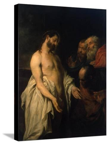 Appearance of Christ to His Disciples, 1625-1626-Sir Anthony Van Dyck-Stretched Canvas Print