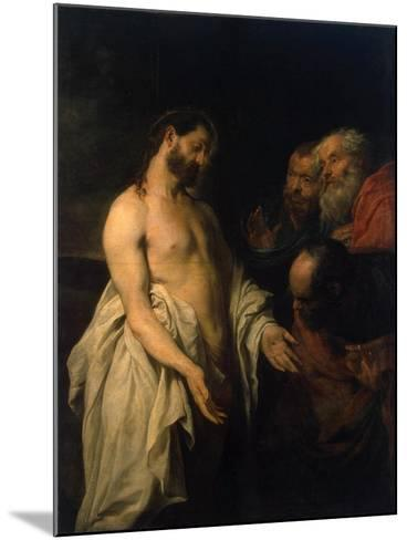 Appearance of Christ to His Disciples, 1625-1626-Sir Anthony Van Dyck-Mounted Giclee Print