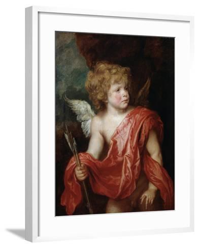 Cupid, Early 17th Century-Sir Anthony Van Dyck-Framed Art Print