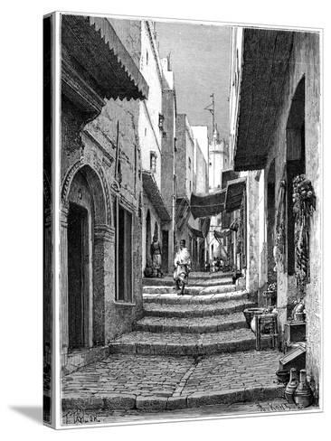 Old Town, Algiers, C1890-Armand Kohl-Stretched Canvas Print