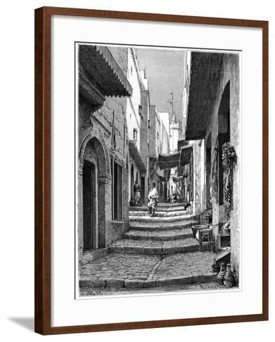 Old Town, Algiers, C1890-Armand Kohl-Framed Art Print