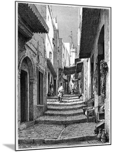 Old Town, Algiers, C1890-Armand Kohl-Mounted Giclee Print