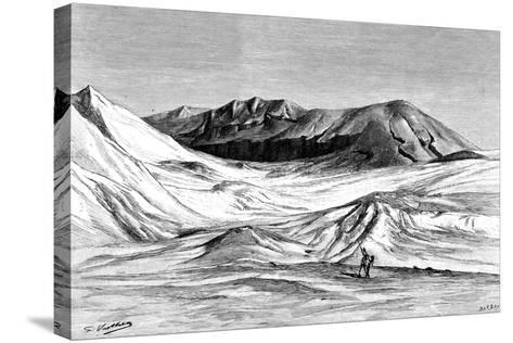 Jebel Khanfusa, the Sahara Desert, North Africa, 1895-Barbant-Stretched Canvas Print